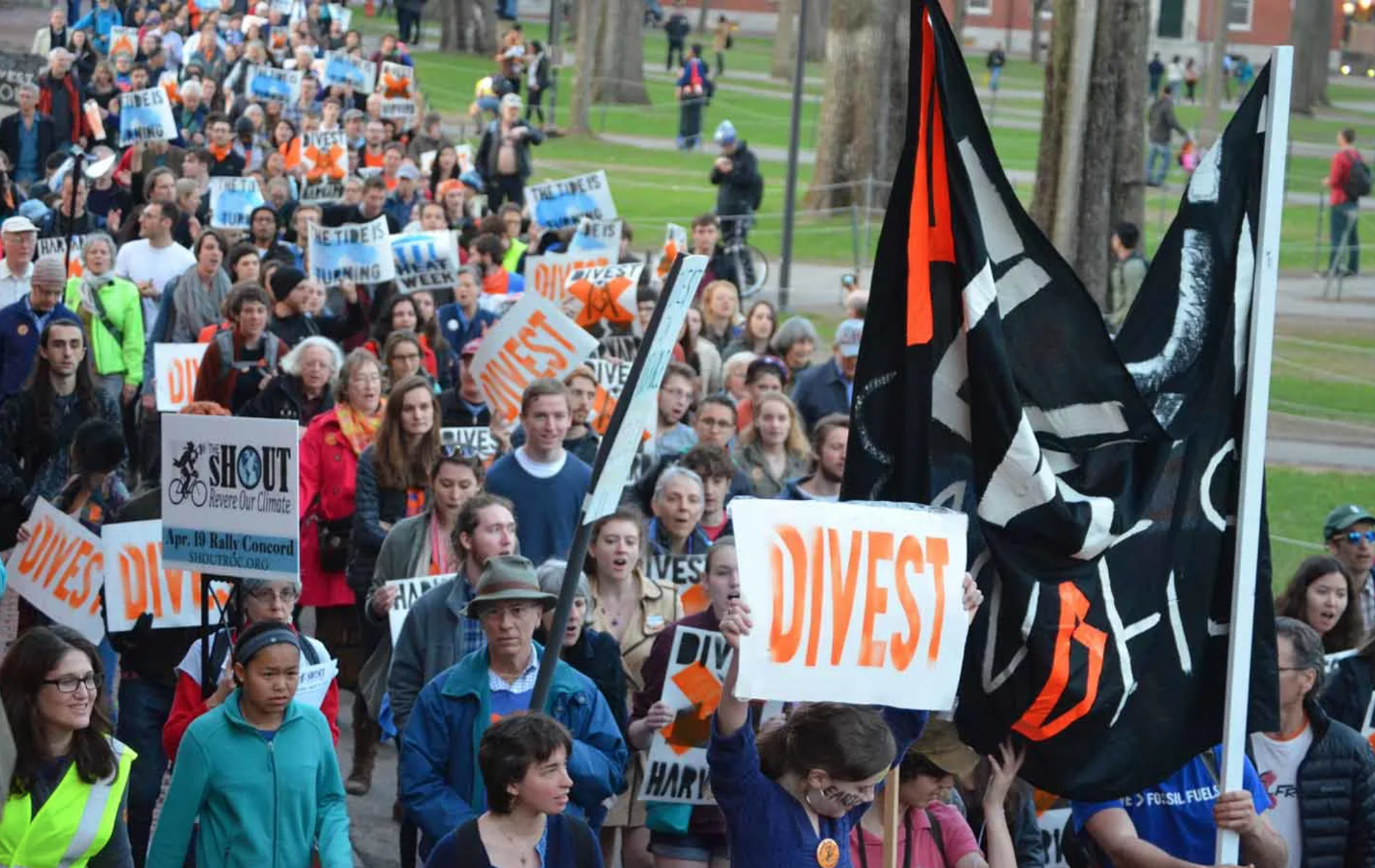 Harvard's Fossil Fuel Investments Aren't Just Immoral — They're Illegal, Too