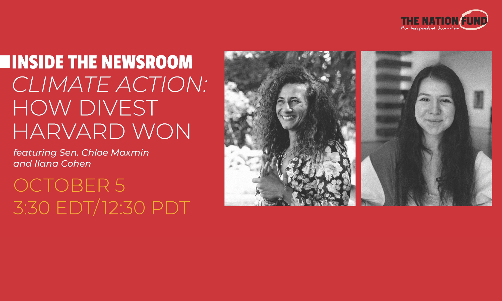 VIDEO: Inside the Newsroom – How Divest Harvard Won